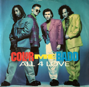 "Color Me Badd - All 4 Love (12"") (VG/G+)"
